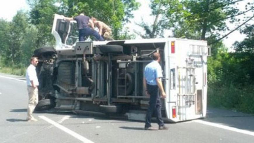 Vorbildlich: Hessische Reservisten helfen Unfallopfern