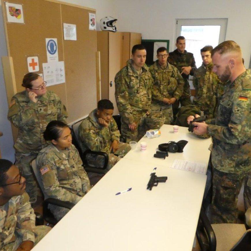 Handwaffenschießen und Funktionerweiterbildung in Wackernheim